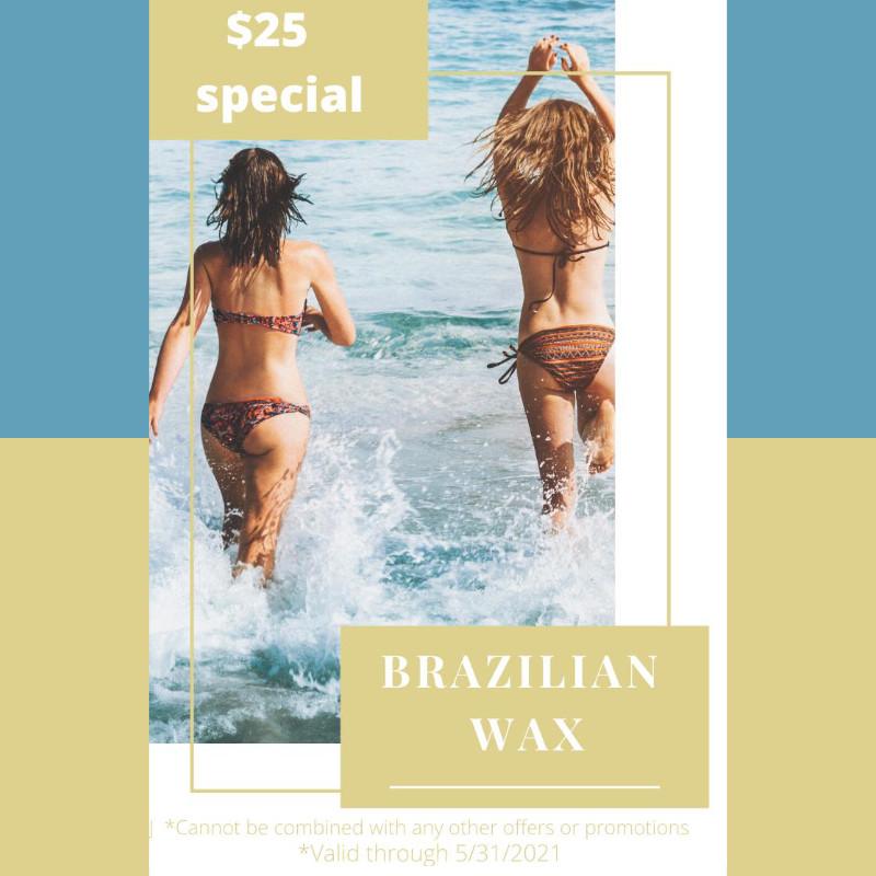 Brazilian Wax Promo