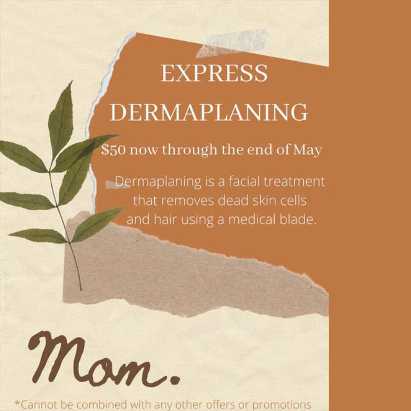 Express Dermaplaning Promo