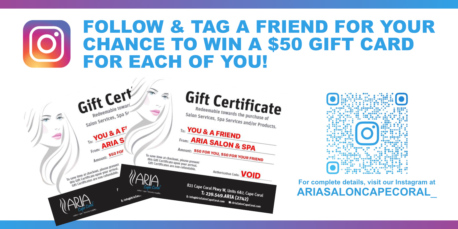 Gift Certificate Promo July 2021